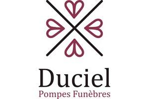 logo prompes funebres Duciel deuil marbrerie et obsèques