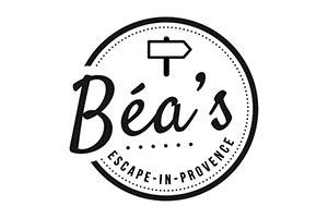 logo de Bea's Escape pour une romance en provence