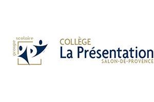 logo du lycée la presentation de marie