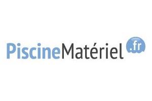 logo de materiel pour piscine LED, pompes doseuses flitration